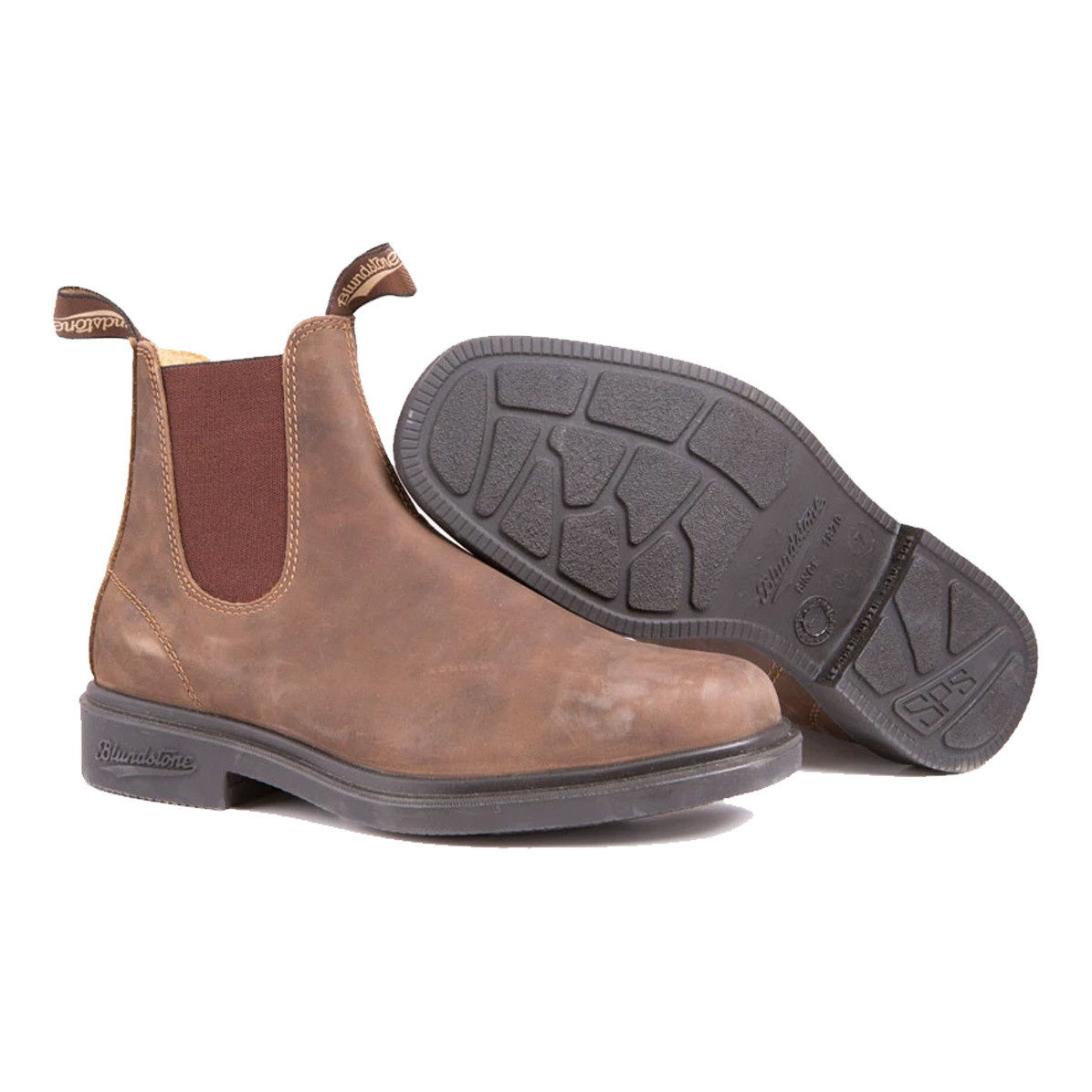 Blundstone Blundstone 1306 Leather Lined Chisel Toe Rustic Brown