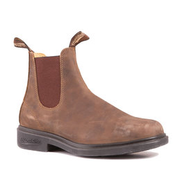 Blundstone 1306 Leather Lined Chisel Toe Rustic Brown