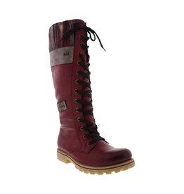 Rieker Women's Z1442-35 Tall Boot Red