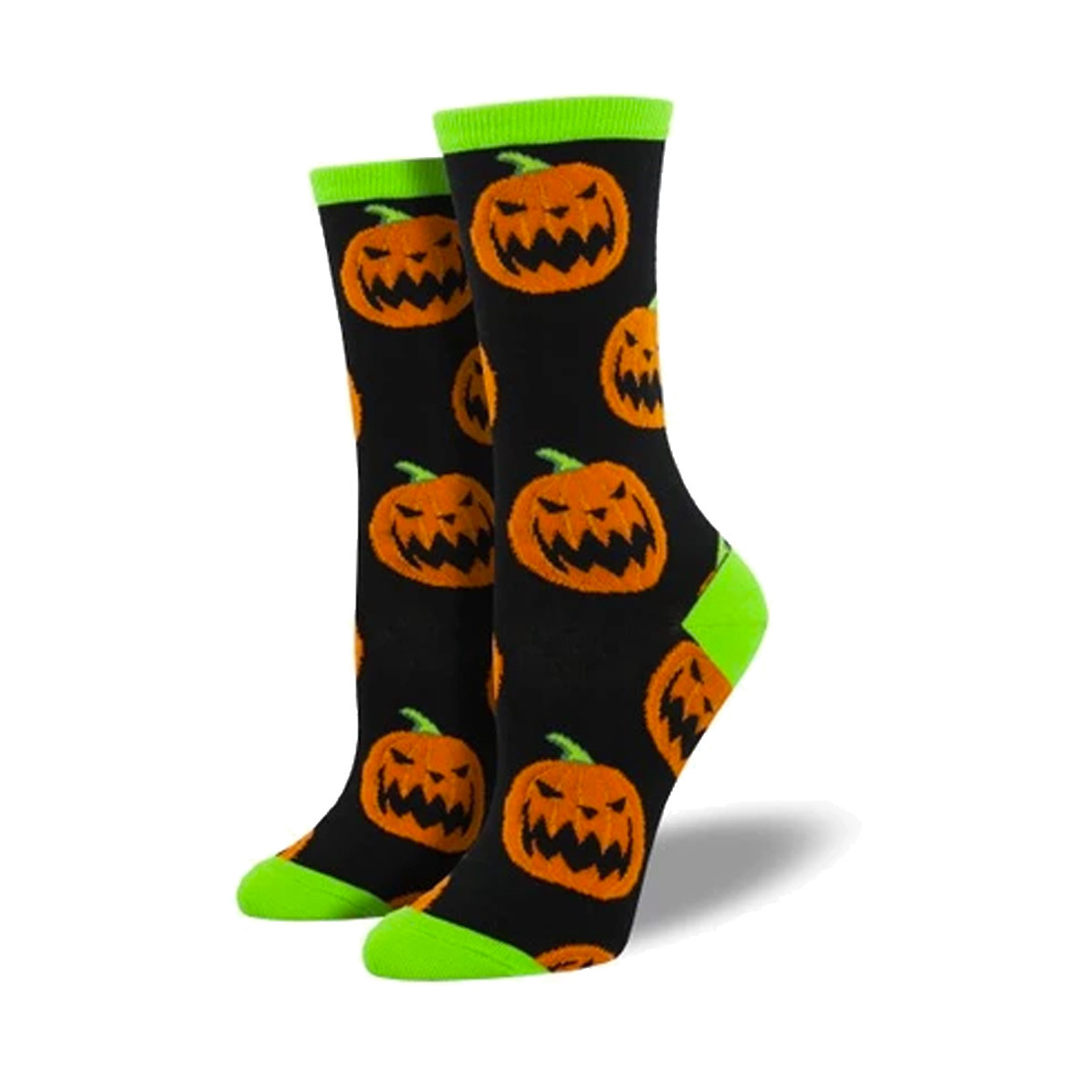 Socksmith Socksmith Women's Cotton Blend Socks Halloween Pumpkins