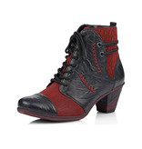 Remonte Remonte Women's Bootie D8786-05 Red Combo