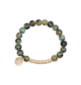 Lia Lubiana African Turquoise Bracelet