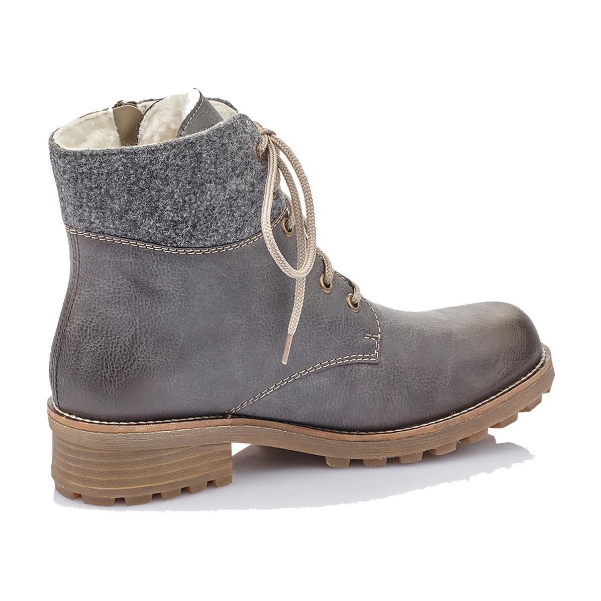 Rieker Rieker Women's Bootie Z0441-45 Grey