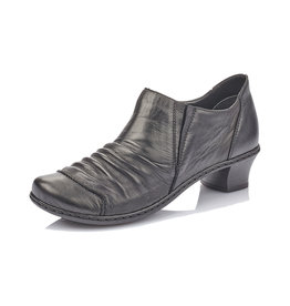 Rieker Women's Bootie 52180-00 Black