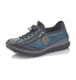 Rieker Women's Shoe M6269-01 Navy