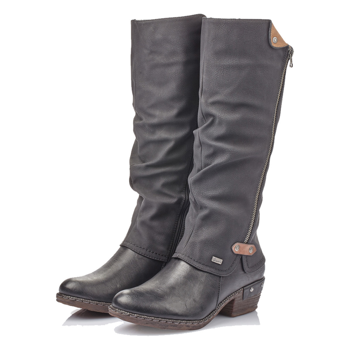 Rieker Rieker Women's 93655-00 Tall Boot Black