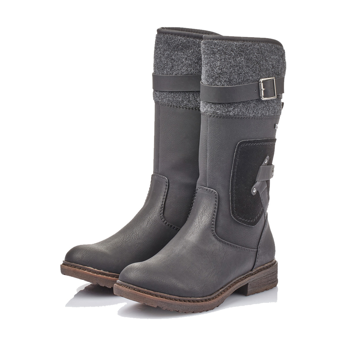 Rieker Rieker Women's Mid-Boot 94761-00 Black