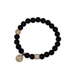 Lia Lubiana Onyx Gold Bracelet