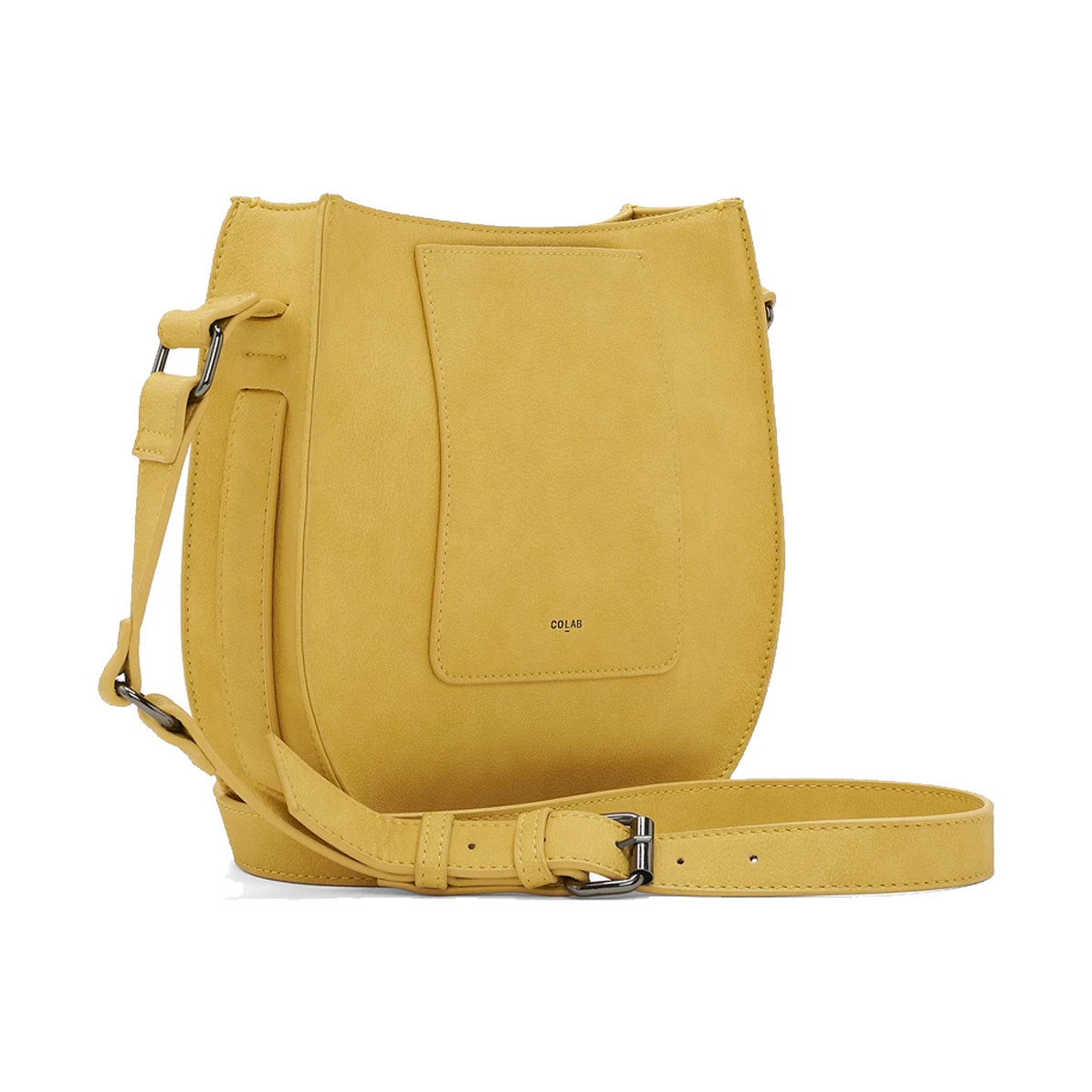 Colab Colab Crafted Seddle Vegan Leather Crossbody