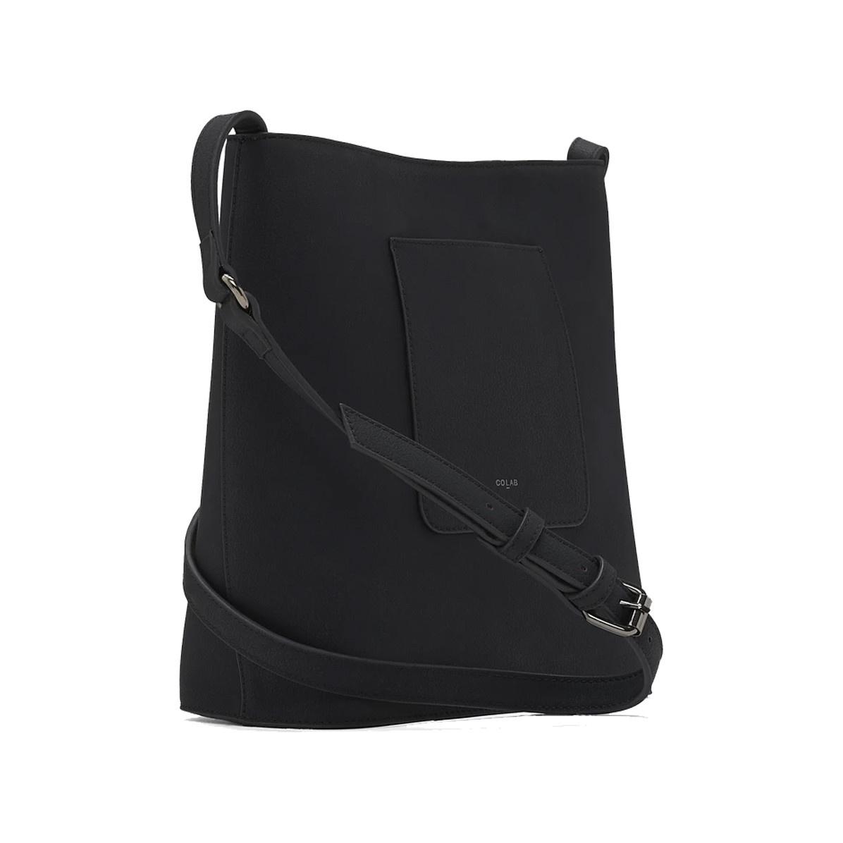 Colab Colab Hobo Bucket Vegan Leather Crossbody