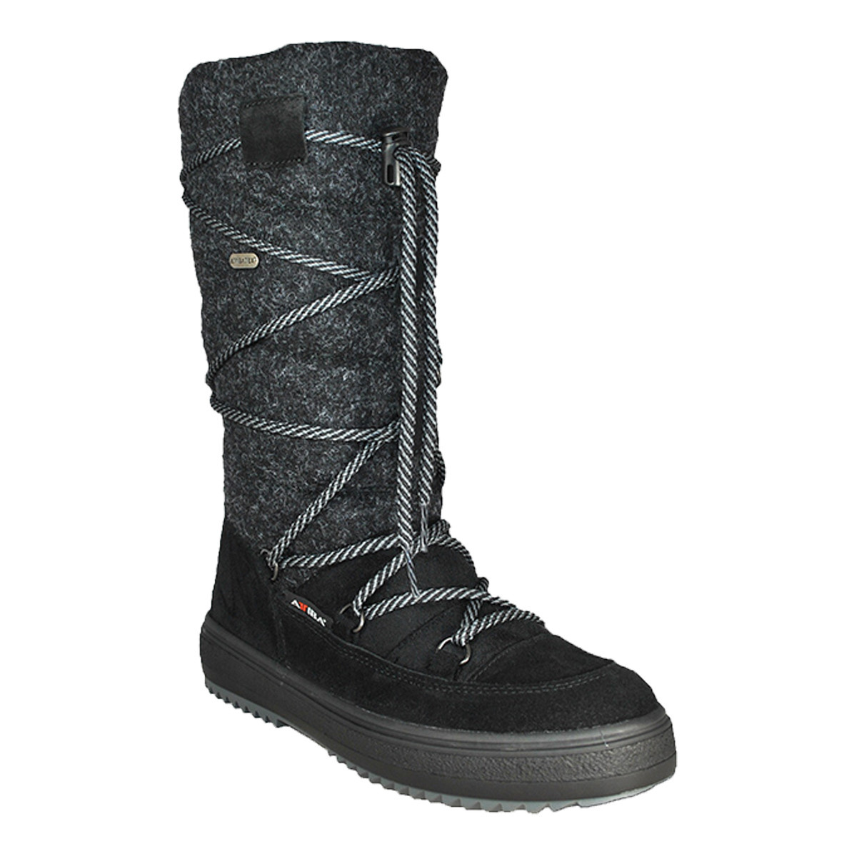 Attiba Attiba Women's 82412 Black Winter Boot