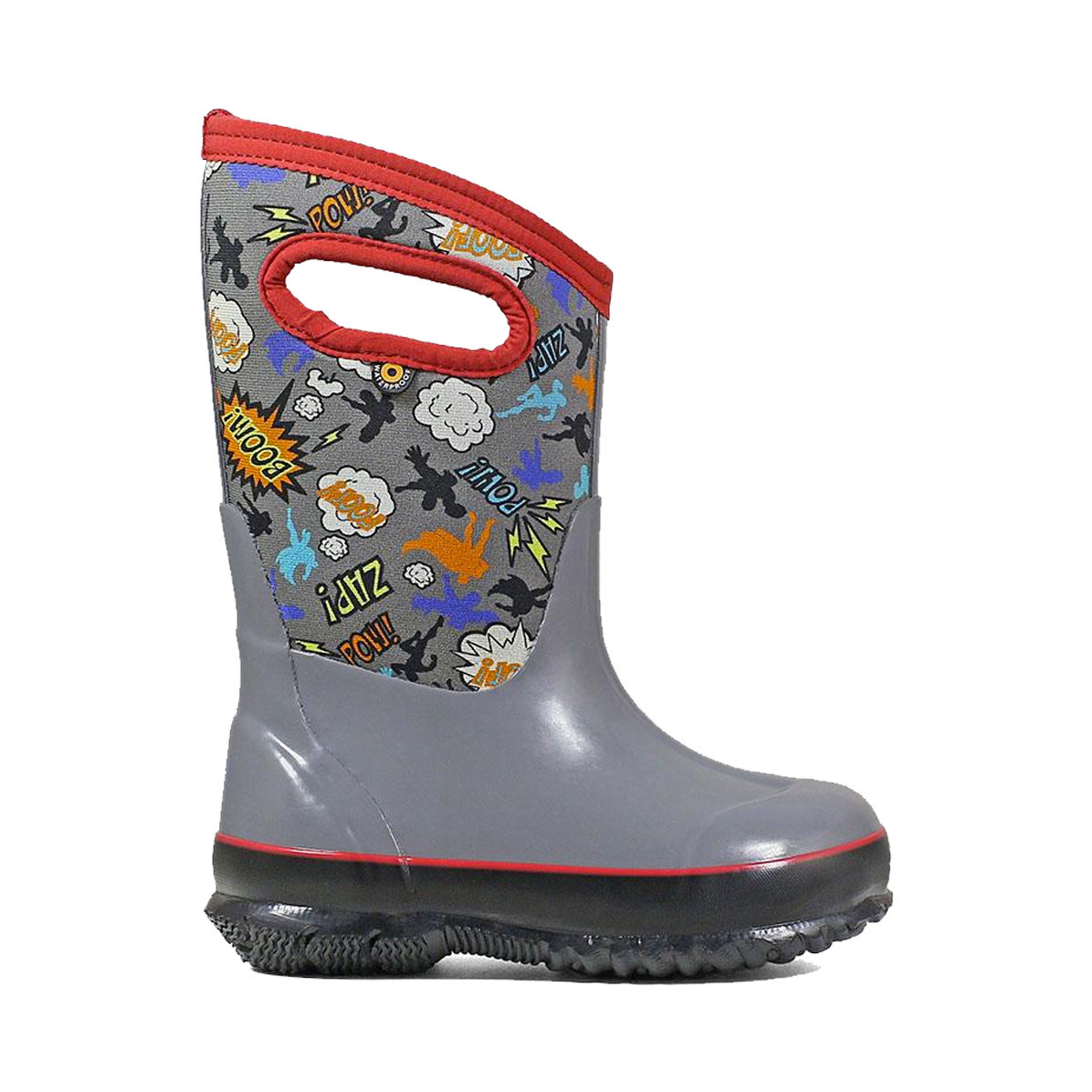 BOGS Kids Classic Super Hero Grey