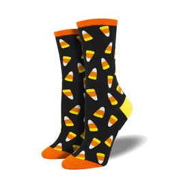 Socksmith Women's Cotton Blend Socks Candy Corn