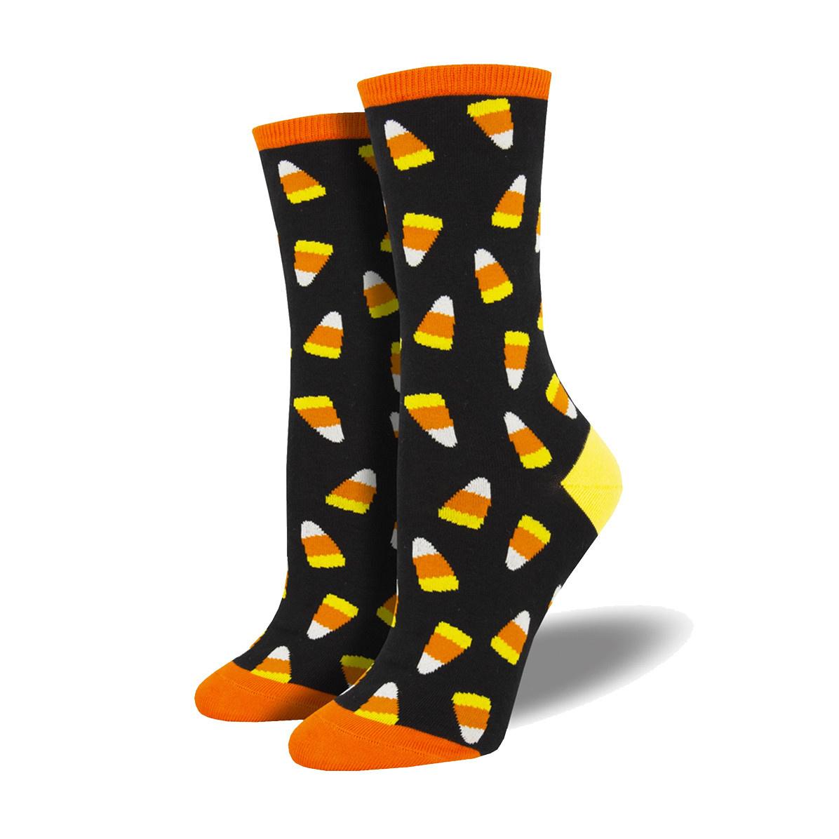 Socksmith Socksmith Women's Cotton Blend Socks Candy Corn
