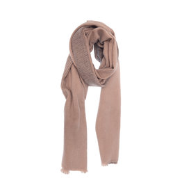 Joy Susan Asymmetrical Ombre Scarf Dusty Pink