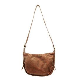 Joy Susan Debbie Vintage Hobo Handbag Cognac