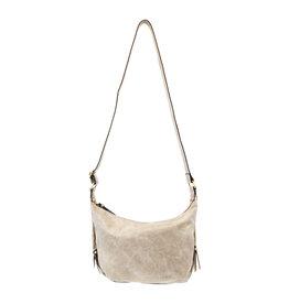 Joy Susan Debbie Vintage Hobo Handbag Dove Grey