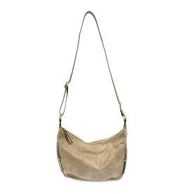 Joy Susan Debbie Vintage Hobo Handbag Khaki