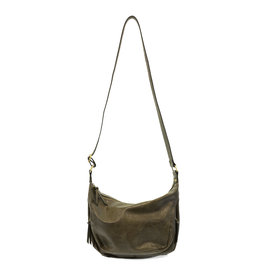 Joy Susan Debbie Vintage Hobo Handbag Olive