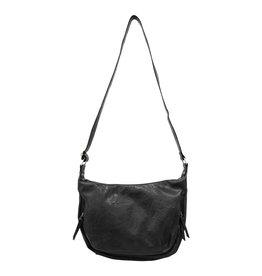 Joy Susan Debbie Vintage Hobo Handbag Onyx