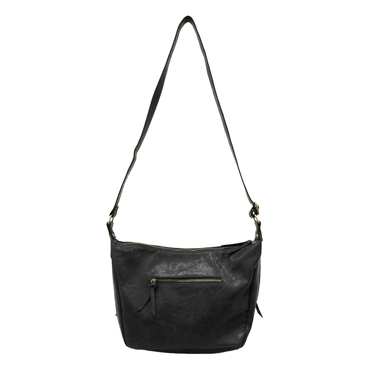 Joy Susan Joy Susan Debbie Vintage Hobo Handbag Onyx