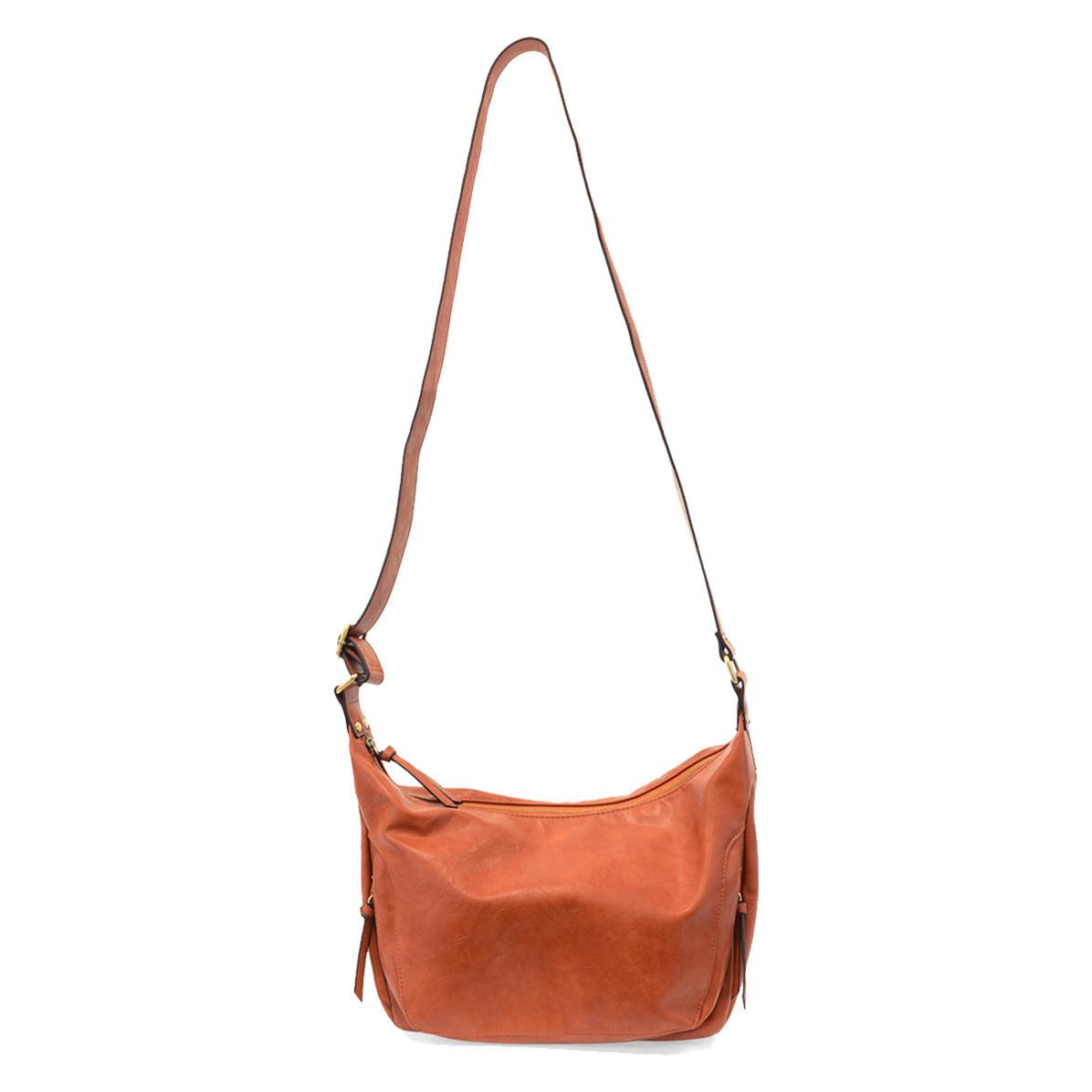 Joy Susan Joy Susan Debbie Vintage Hobo Handbag Persimmon