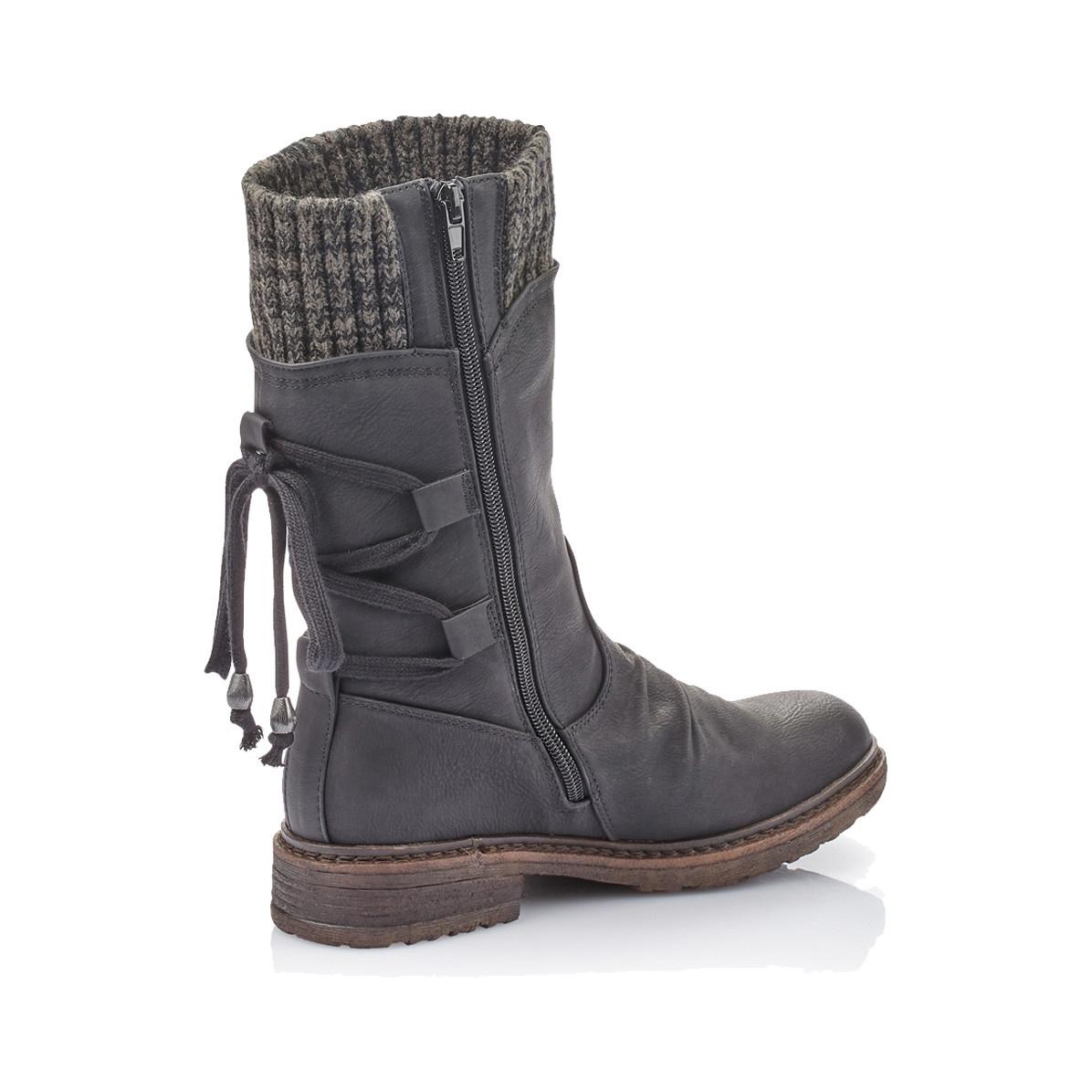 Rieker Rieker Women's Mid-Boot 94773-00 Black