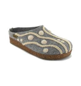 Haflinger Women's Helena Grey Slippers
