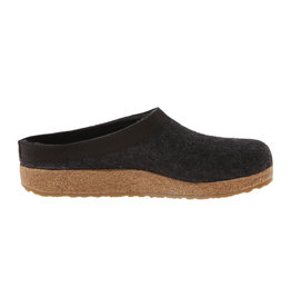 Haflinger Men's Gzl Charcoal Slippers