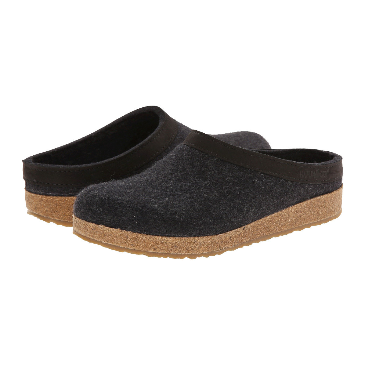 Haflinger Haflinger Women's Gzl Charcoal Slippers
