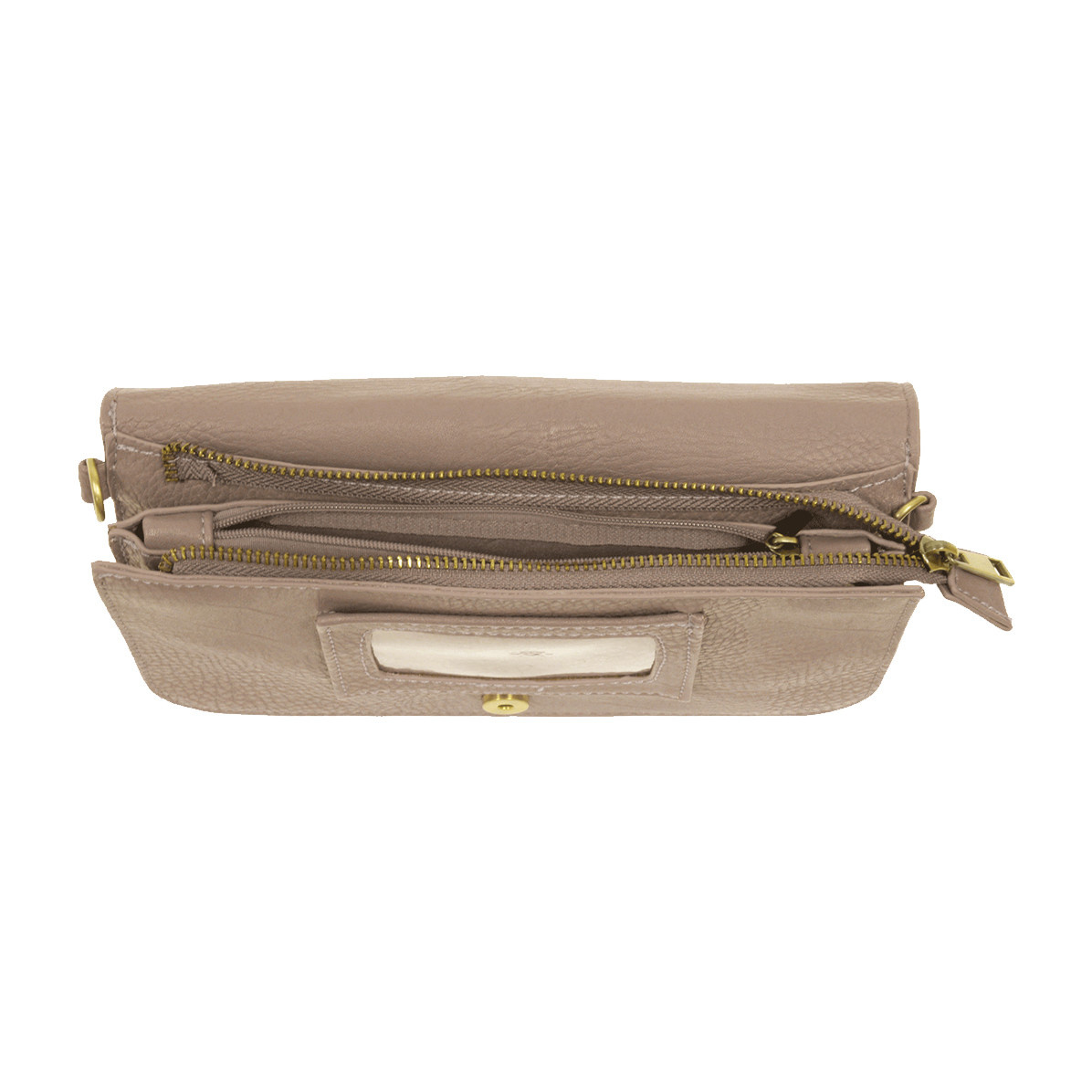 Joy Susan Joy Susan Mia Multi Pocket Crossbody Mystic Grey