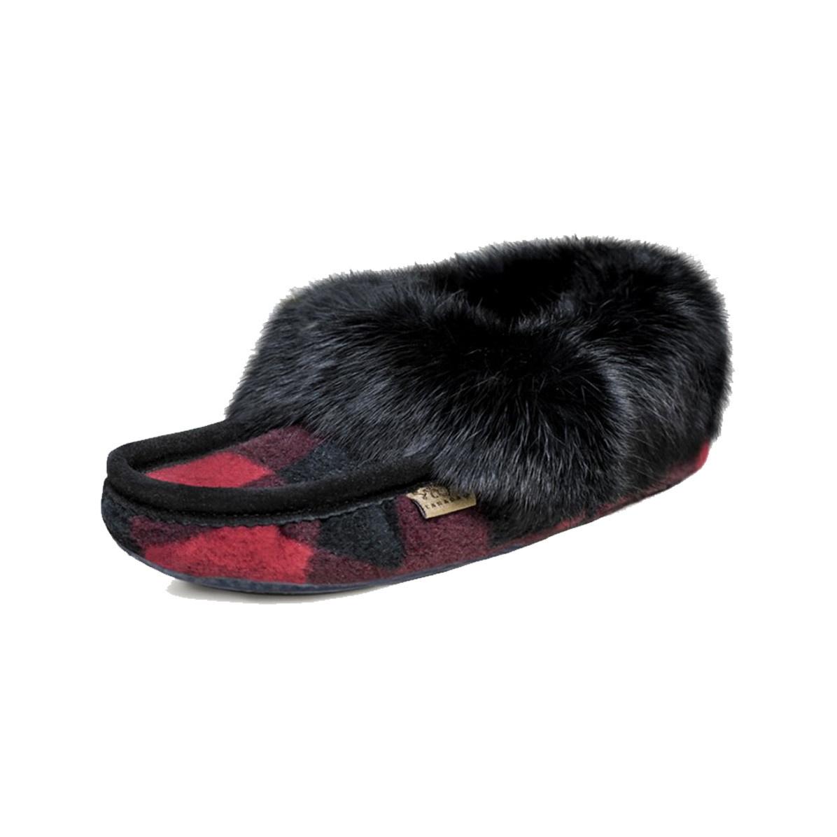 Laurentian Chief Women's Slipper Black 606BLL