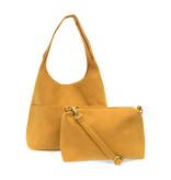 Joy Susan Joy Susan Jenny Faux Suede Handbag Butterscotch