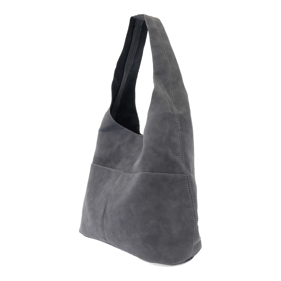 Joy Susan Joy Susan Jenny Faux Suede Handbag Dark Chambray