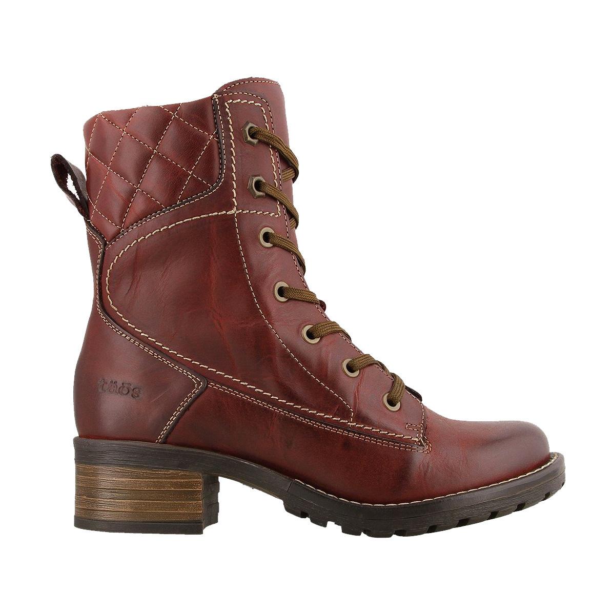 Taos Footwear Taos Women's Factor Deep Red