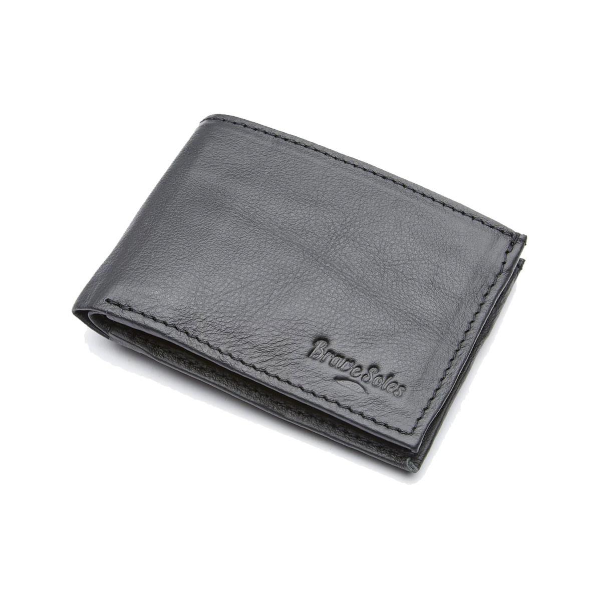 Brave Soles Brave Soles Men's Michel Black Wallet