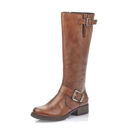 Rieker Women's Z9580-25 Tall Boot Brown