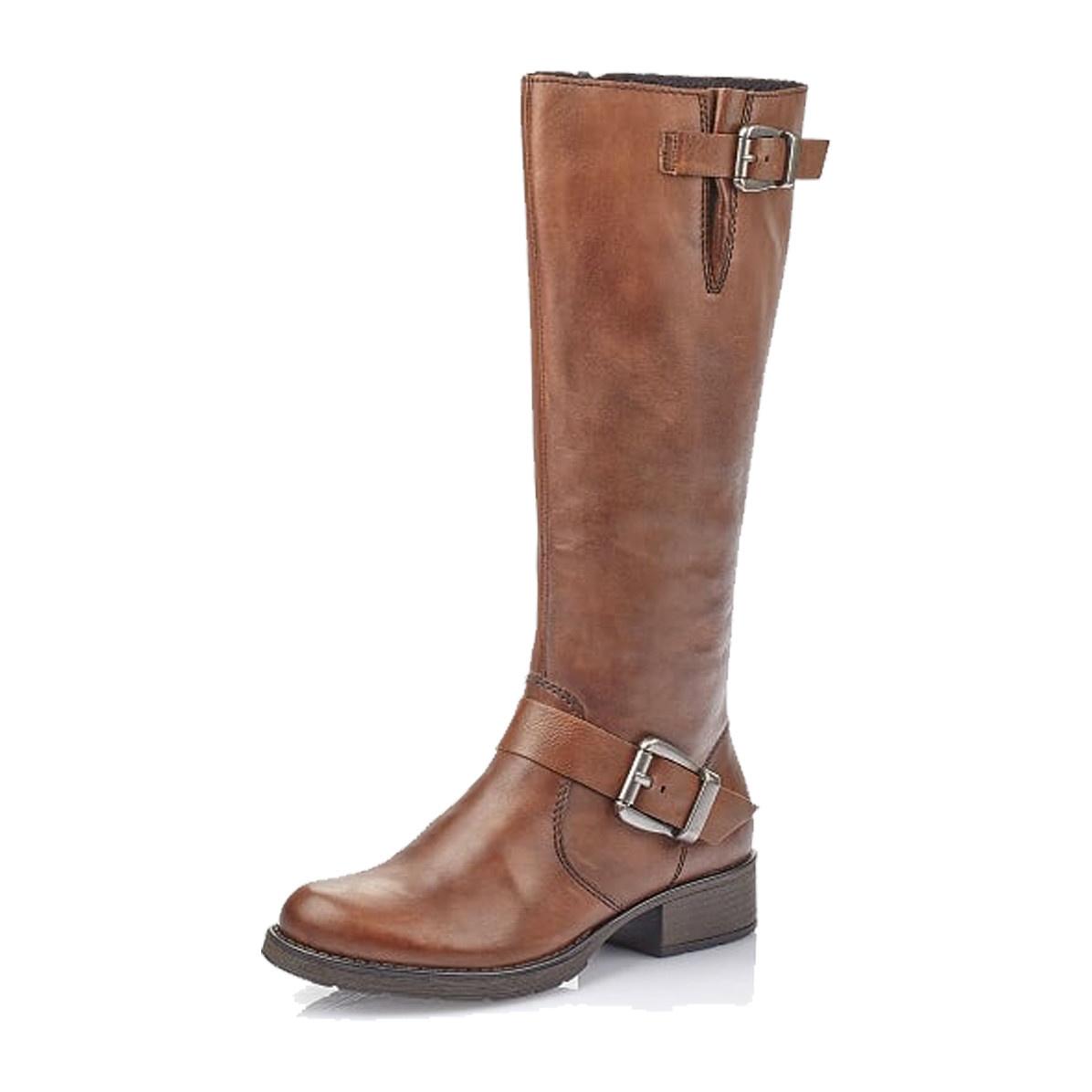 Schuhwerk spätester Verkauf akzeptabler Preis Rieker Rieker Women's Z9580-25 Tall Boot Brown