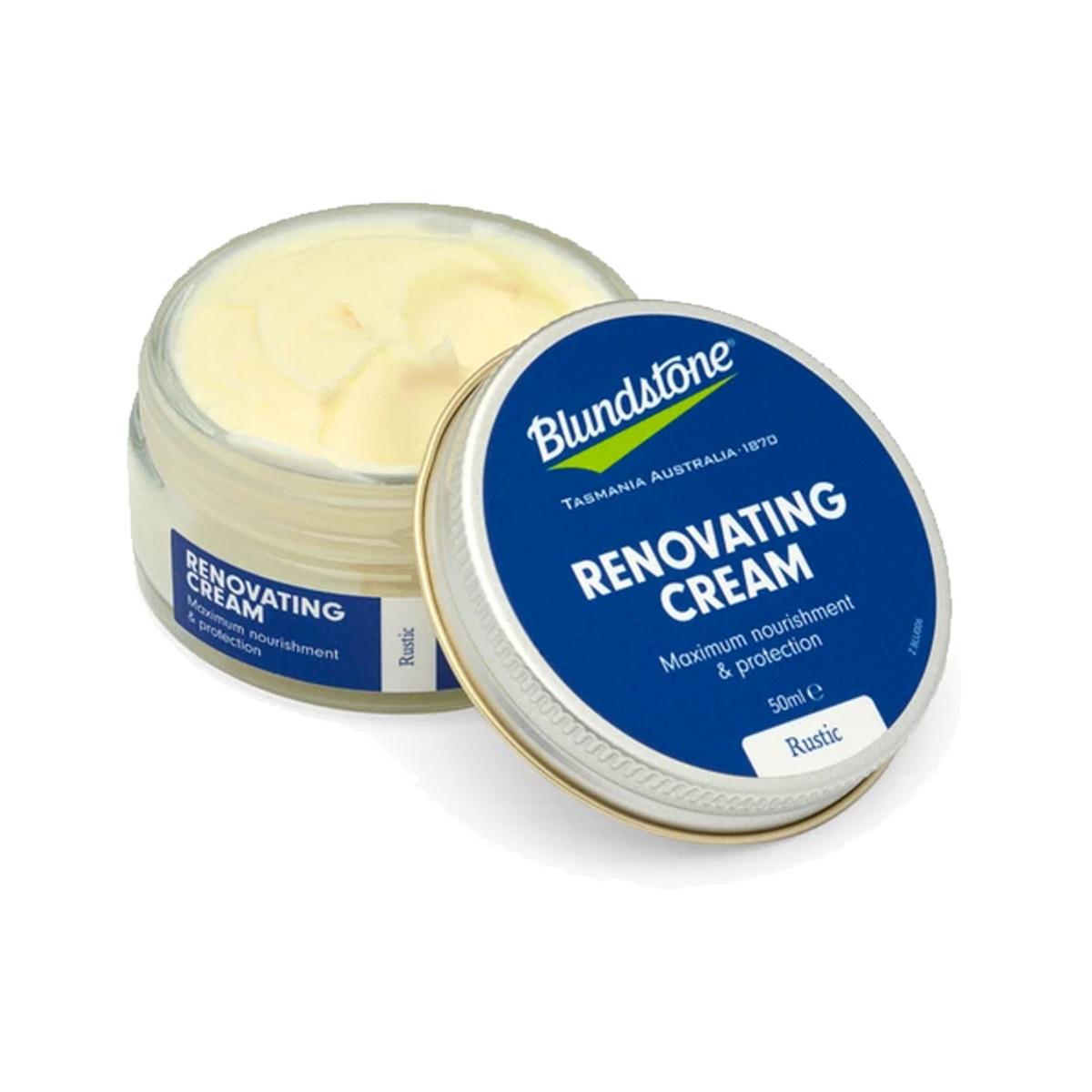Blundstone Renovation Cream Rustic Brown