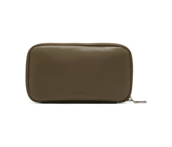 Colab Smooth World Vegan Leather Wallet Olive