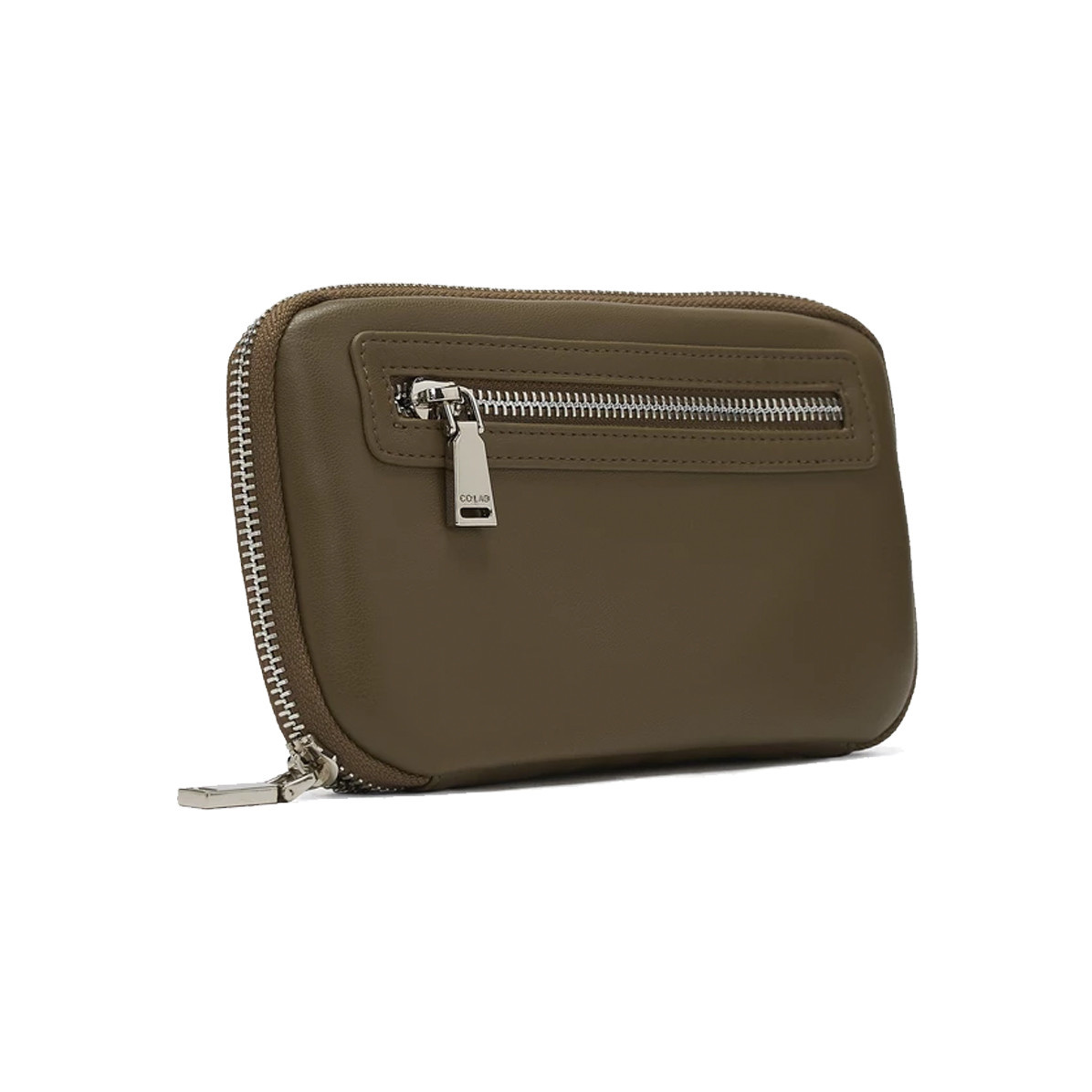 Colab Colab Smooth World Vegan Leather Wallet Olive