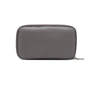 Colab Smooth World Vegan Leather Wallet Grey