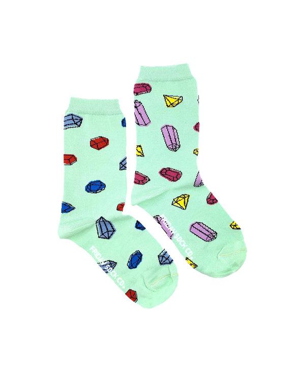 Friday Sock Co. Women's Gemstones Crew
