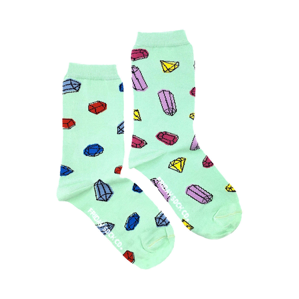 Friday Sock Co. Friday Sock Co. Women's Gemstones Crew