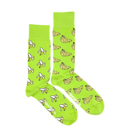 Friday Sock Co. Men's Bananas Crew