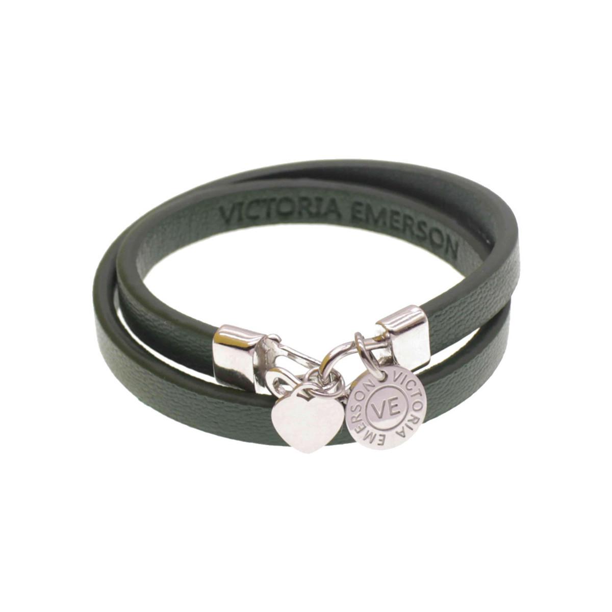 Victoria Emerson Heart Double Wrap Bracelet