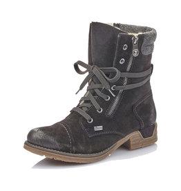 Rieker Women's Bootie 79633-00 Black