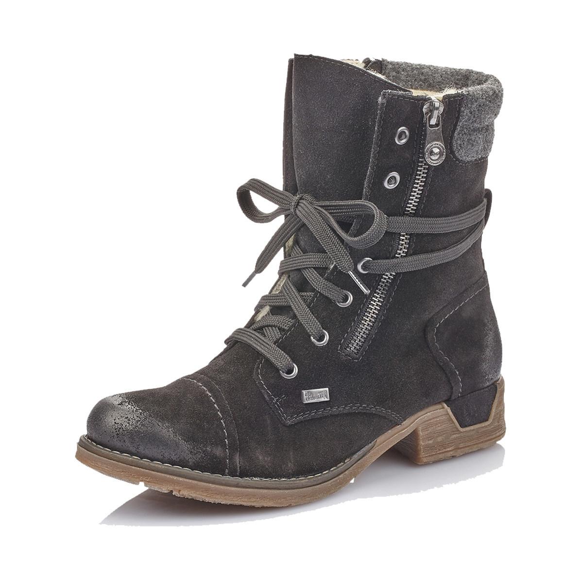 Rieker Rieker Women's Bootie 79633-00 Black