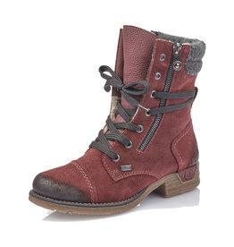 Rieker Women's Bootie 79633-36 Red