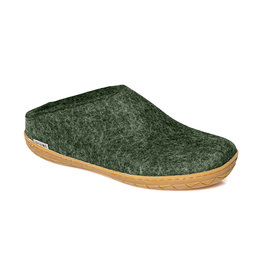Glerups The Slipper Rubber Sole Forest